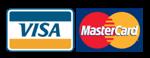 Tarjetas de crédito aceptadas